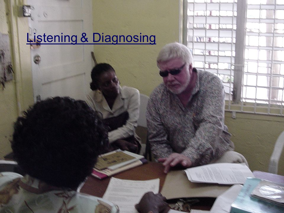 Listening & Diagnosing