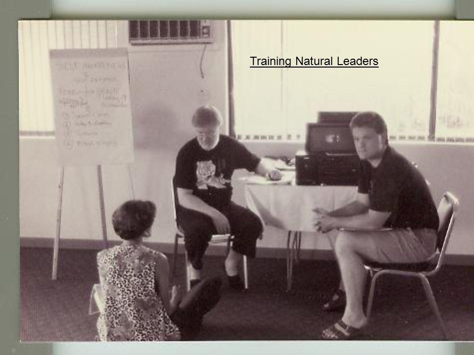 Training Natural Leaders