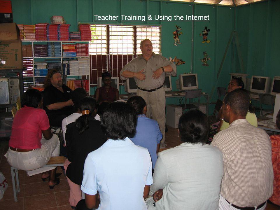 Teacher Training & Using the Internet