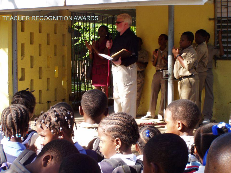 TEACHER RECOGNITION AWARDS