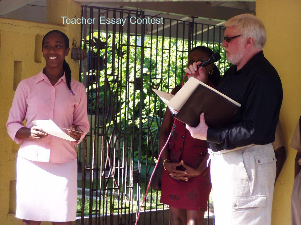 Teacher Essay Contest