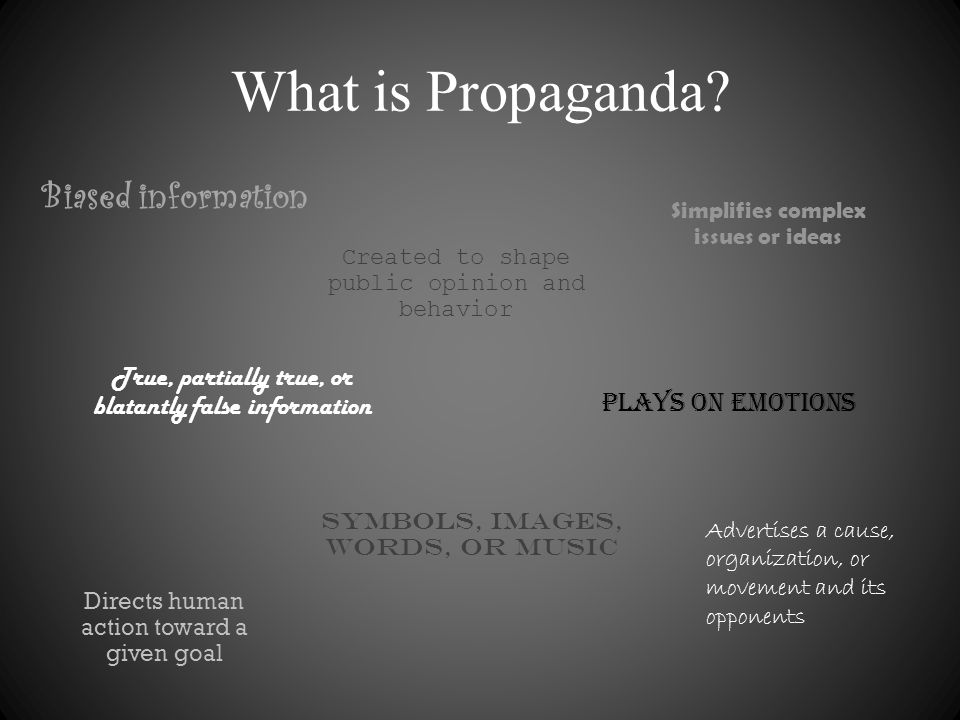 Common Propaganda Techniques Bandwagon Testimonial Plain Folks Transfer Fear/Card Stacking Logical Fallacies Glittering Generalities Name-calling