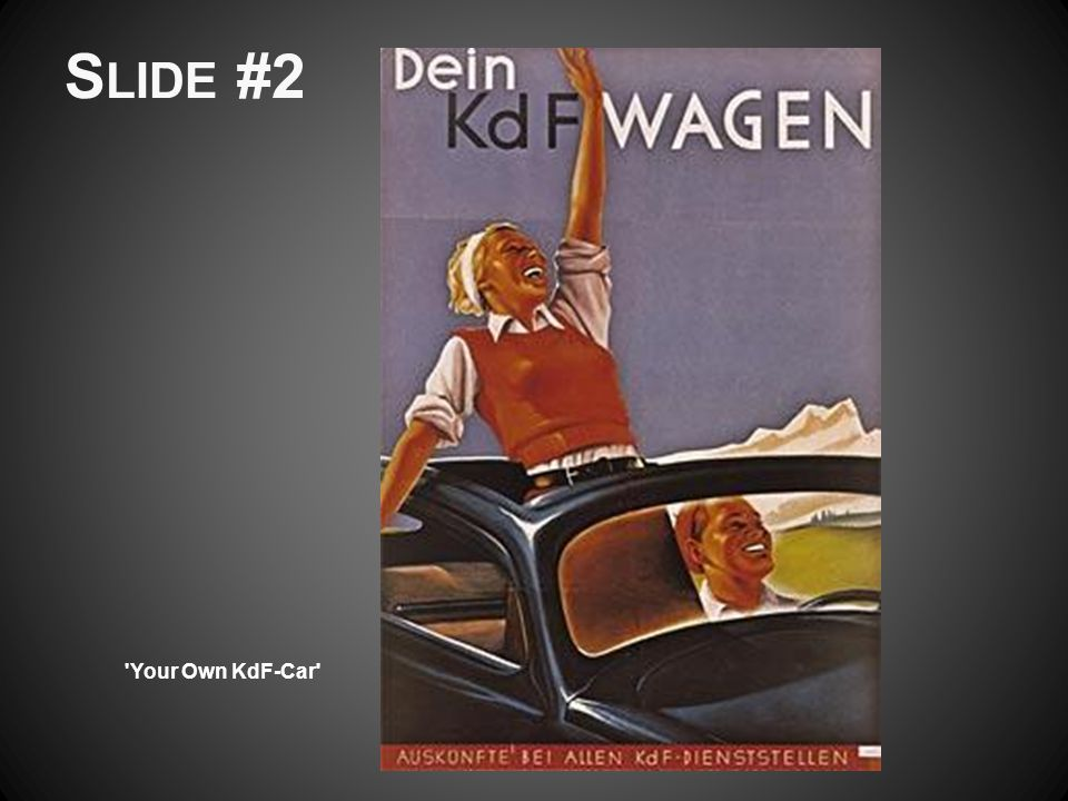 S LIDE #2 'Your Own KdF-Car'