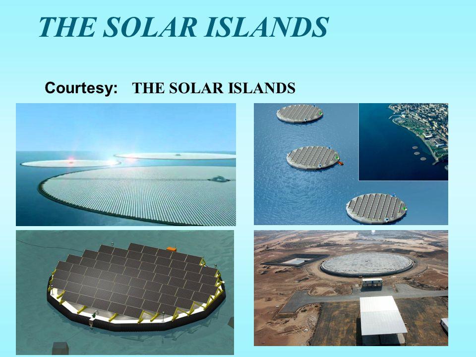 THE SOLAR ISLANDS 52 Courtesy: THE SOLAR ISLANDS