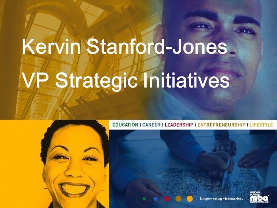 Kervin Stanford-Jones VP Strategic Initiatives