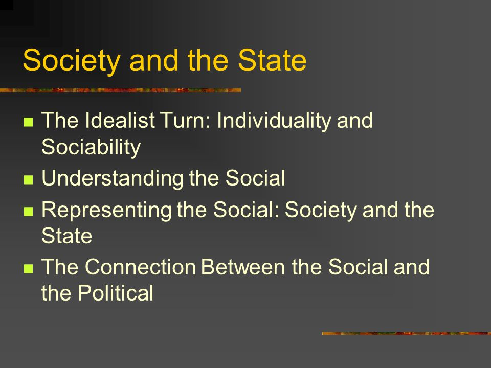 Lecture 6: Society and the State: Emile Durkheim and the Politics of the Social Foundations of Modern Social and Political Thought