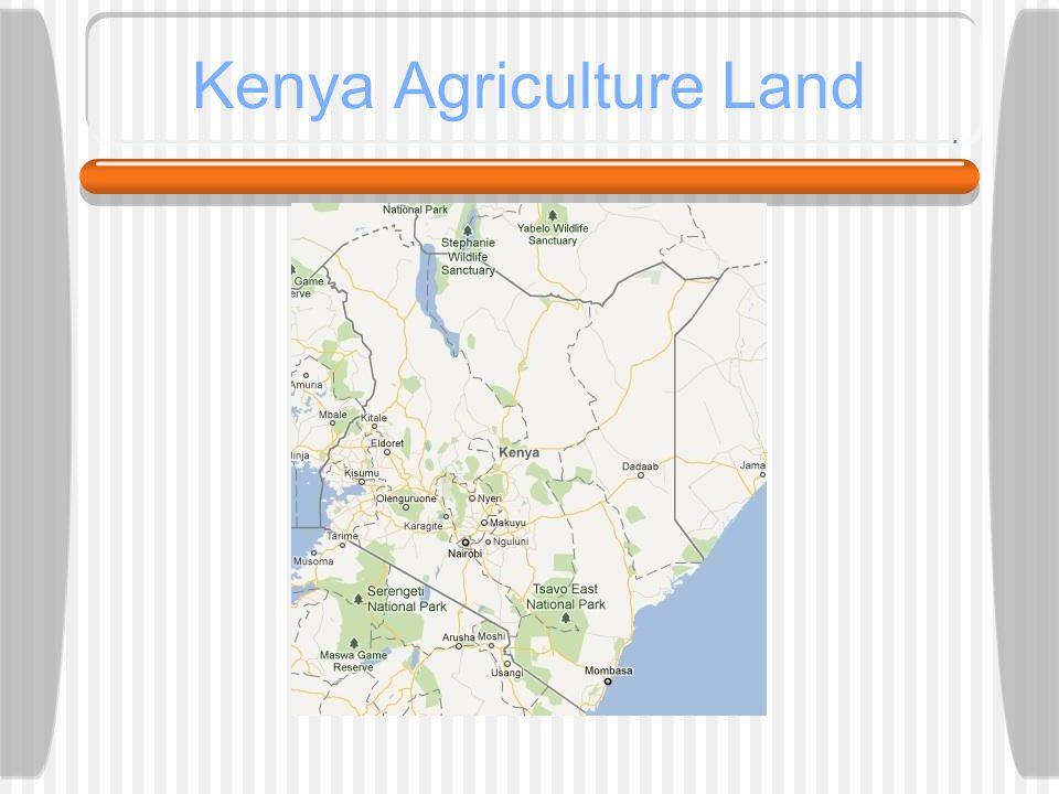 Kenya Agriculture Land