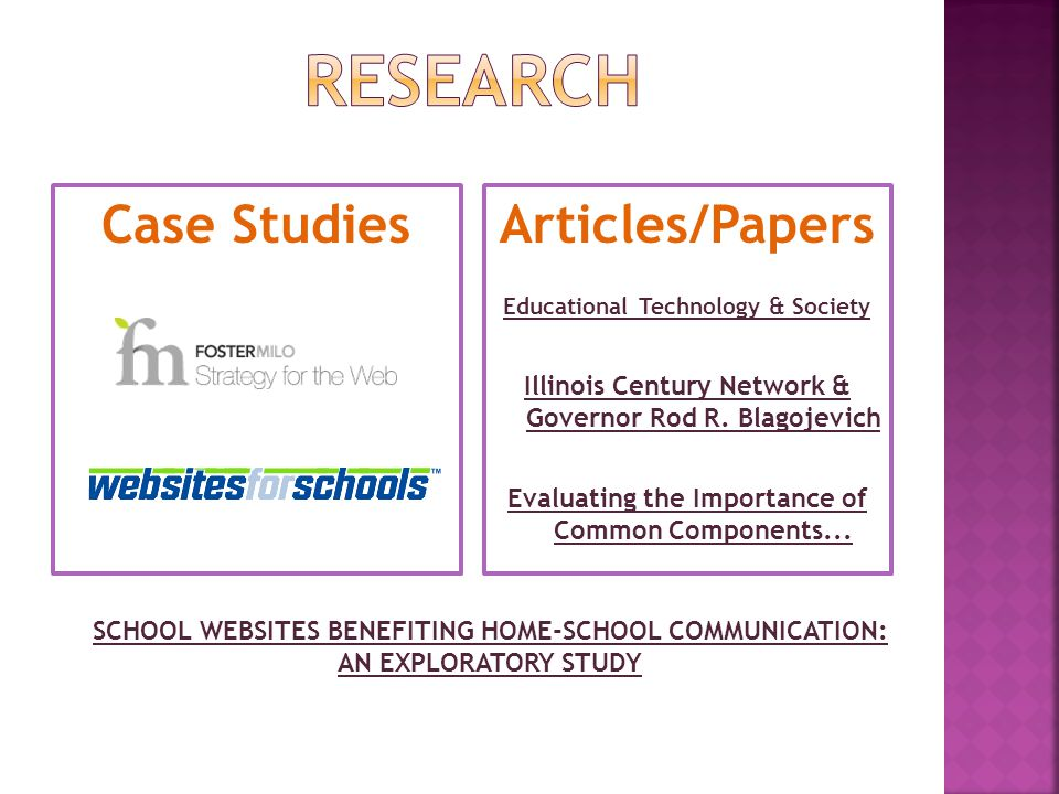 Case StudiesArticles/Papers Educational Technology & Society Illinois Century Network & Governor Rod R.