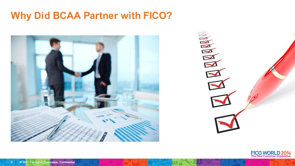 Why Did BCAA Partner with FICO 9