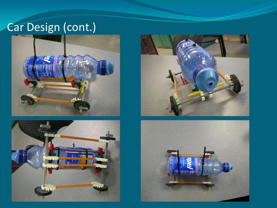 Car Design (cont.)