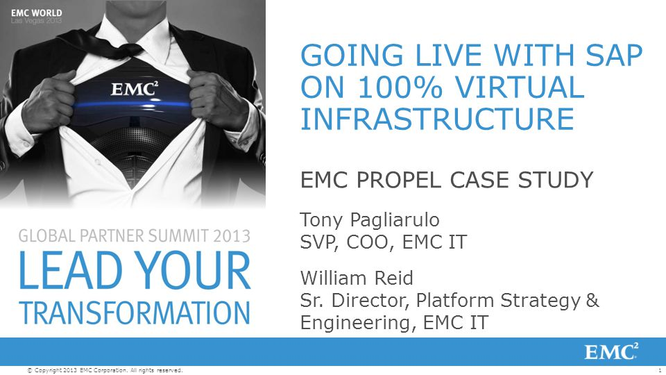 22© Copyright 2013 EMC Corporation.All rights reserved.