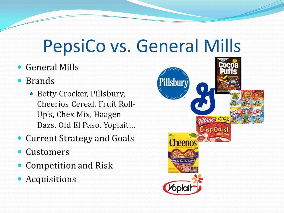 PepsiCo: BCG Matrix PEPSI FRITO-LAY TROPICANA