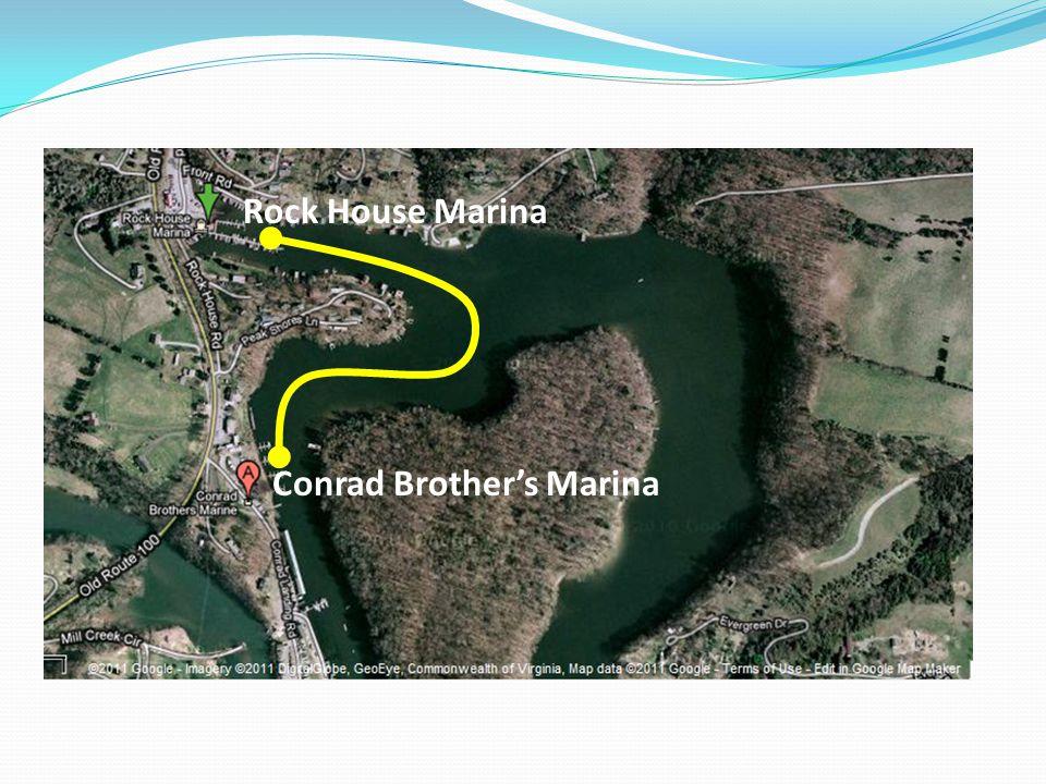 Rock House Marina Conrad Brother's Marina