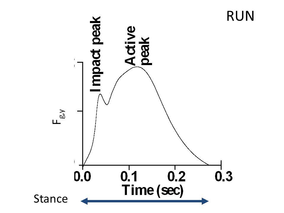 RUN F g,y Stance