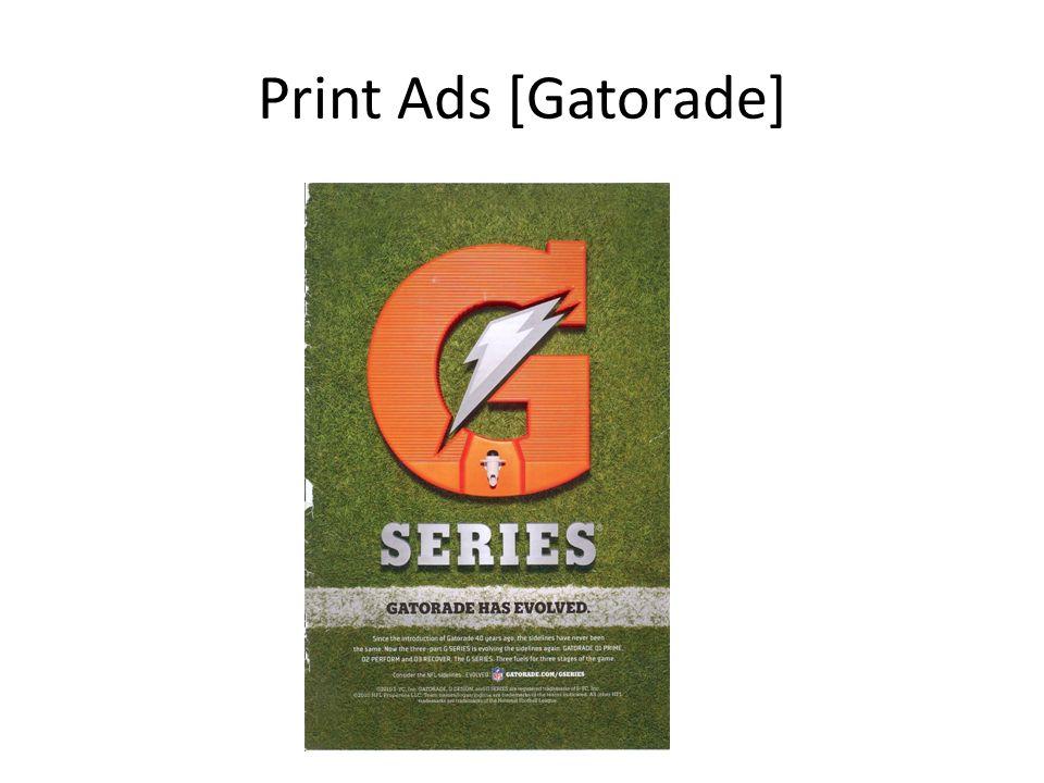 Print Ads [Gatorade]