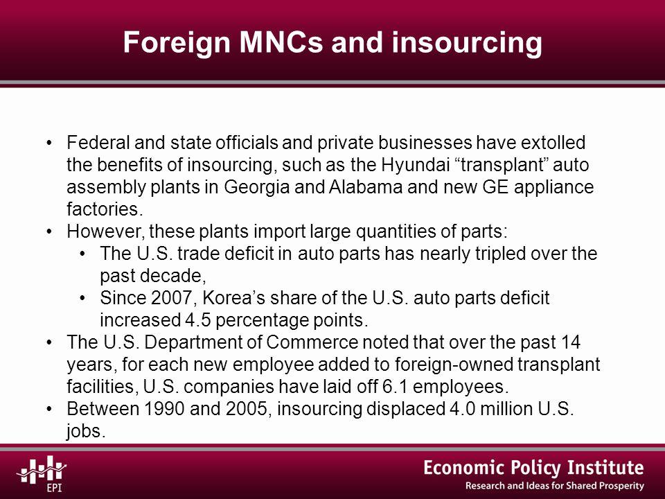 U.S.China trade and job displacement, 2001–10 U.S.