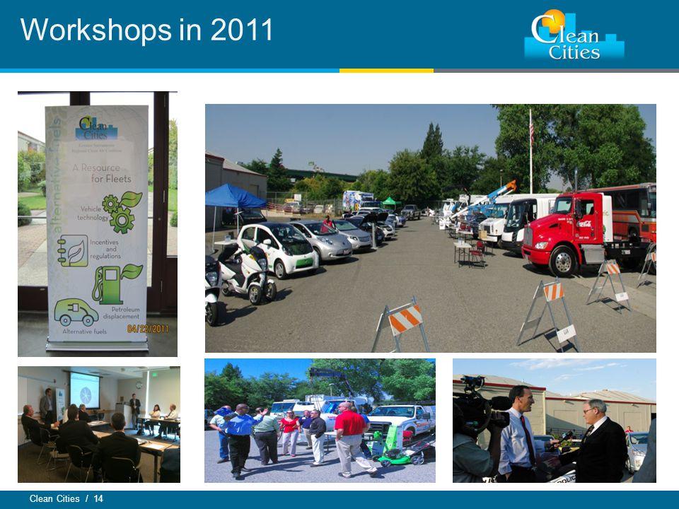 Clean Cities / 14 Workshops in 2011