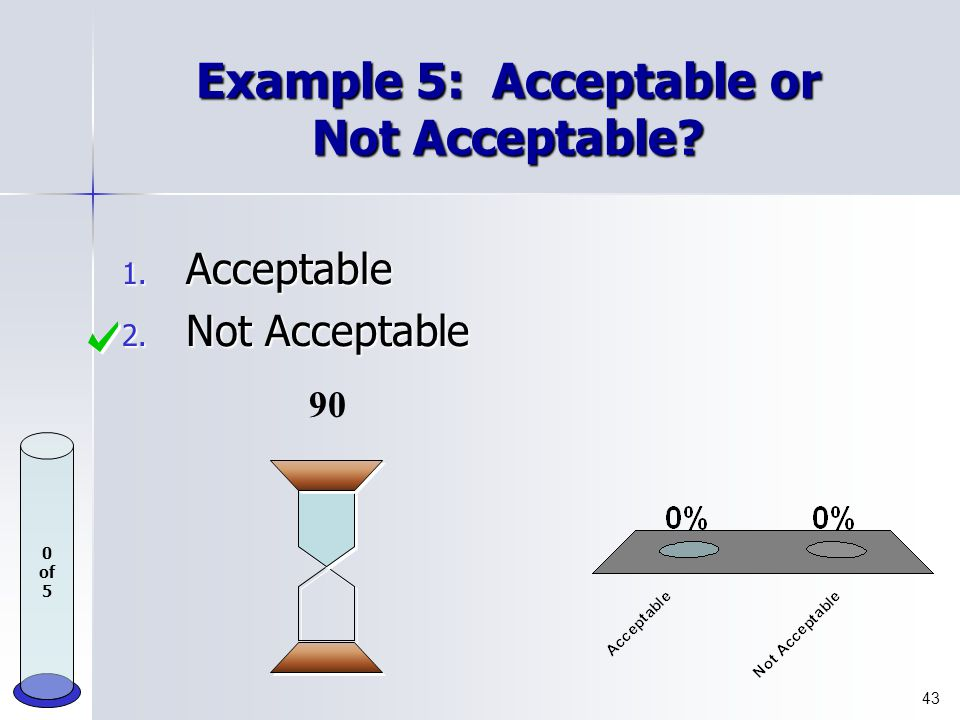 Example 4: Plagiarism or Not Plagiarism? 1. Plagiarism 2. Not Plagiarism 42 0 of 5 90