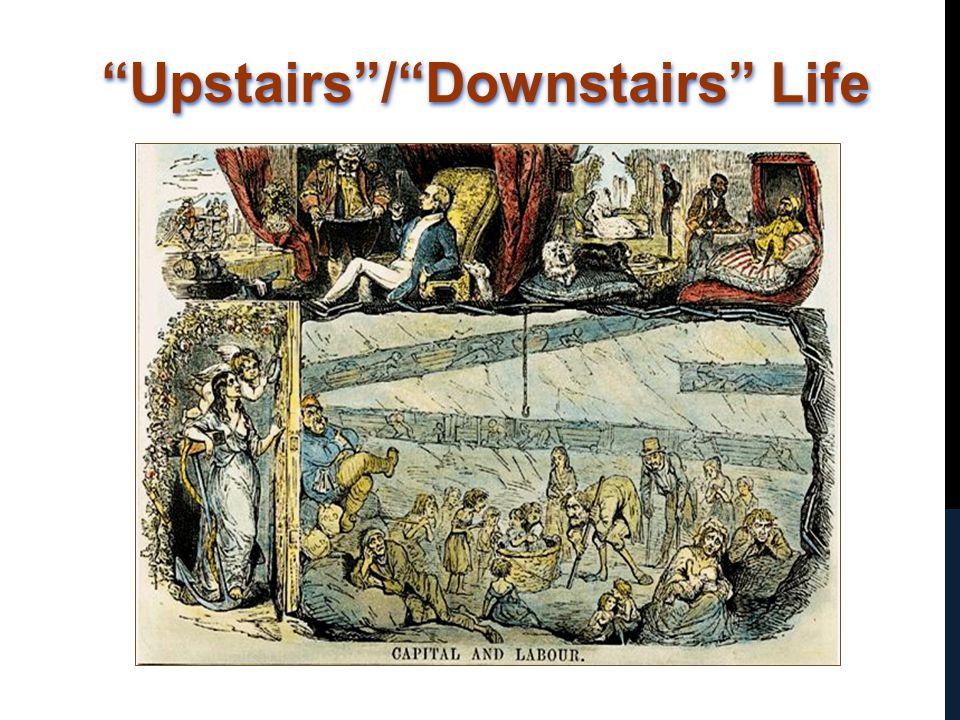 """Upstairs""/""Downstairs"" Life"