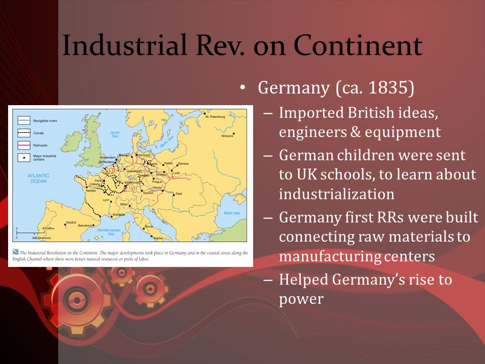 Industrial Rev. on Continent Germany (ca.