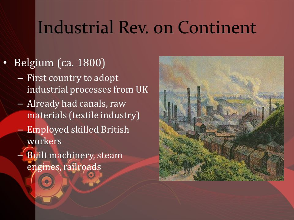 Industrial Rev.on Continent Germany (ca.