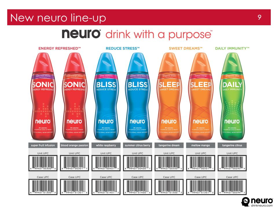 9 New neuro line-up