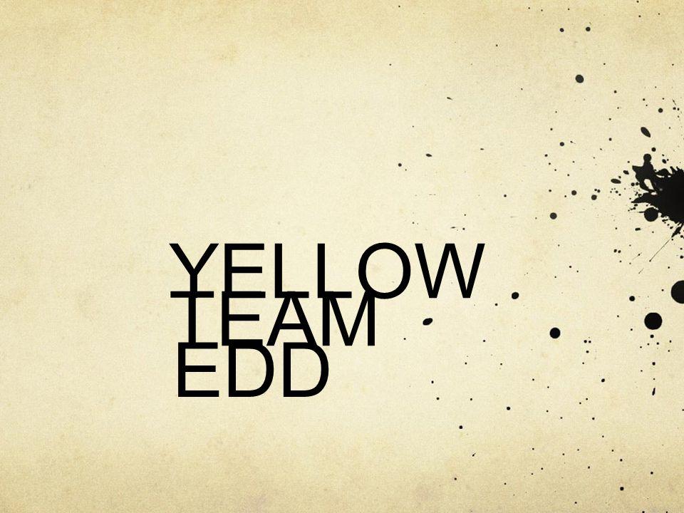 YELLOW TEAM EDD