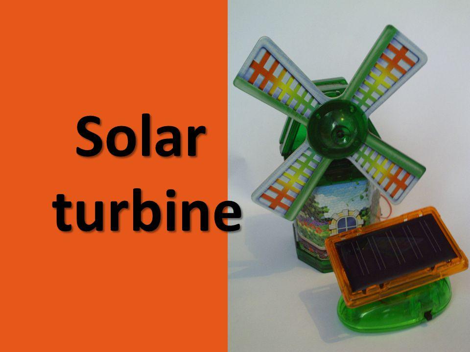 Solar turbine