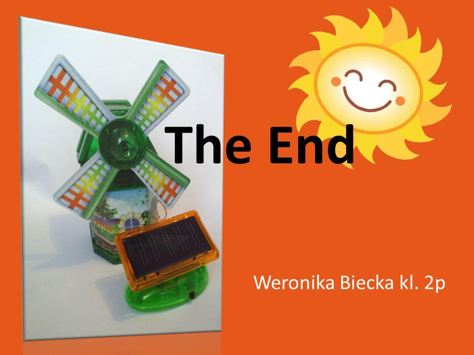 Weronika Biecka kl. 2p The End