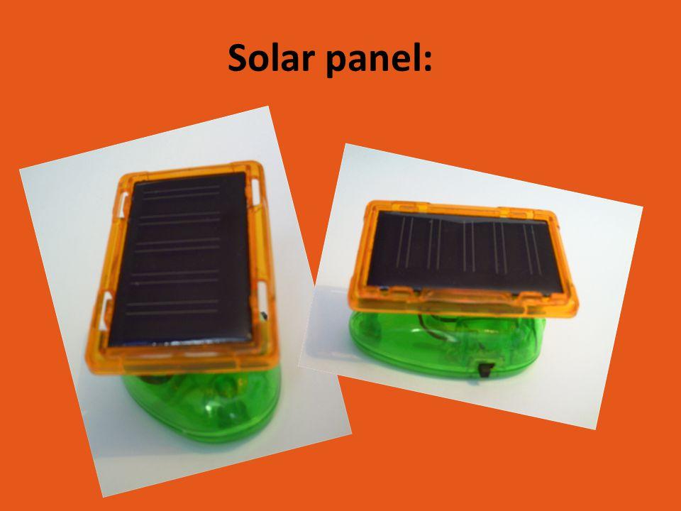 Solar panel:
