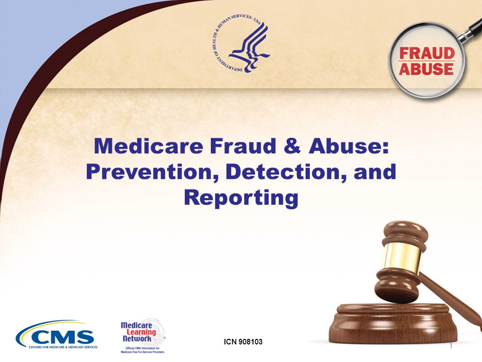 11 Medicare Fraud and Abuse Is a Serious Problem Most Medicare providers/contractors are honest However, $4 billion recovered in 1 year