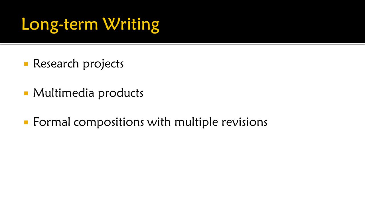  Research projects  Multimedia products  Formal compositions with multiple revisions