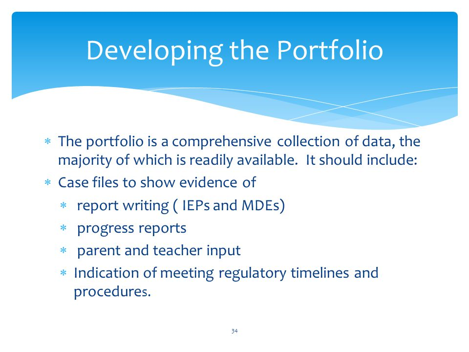  The portfolio is a comprehensive collection of data, the majority of which is readily available.