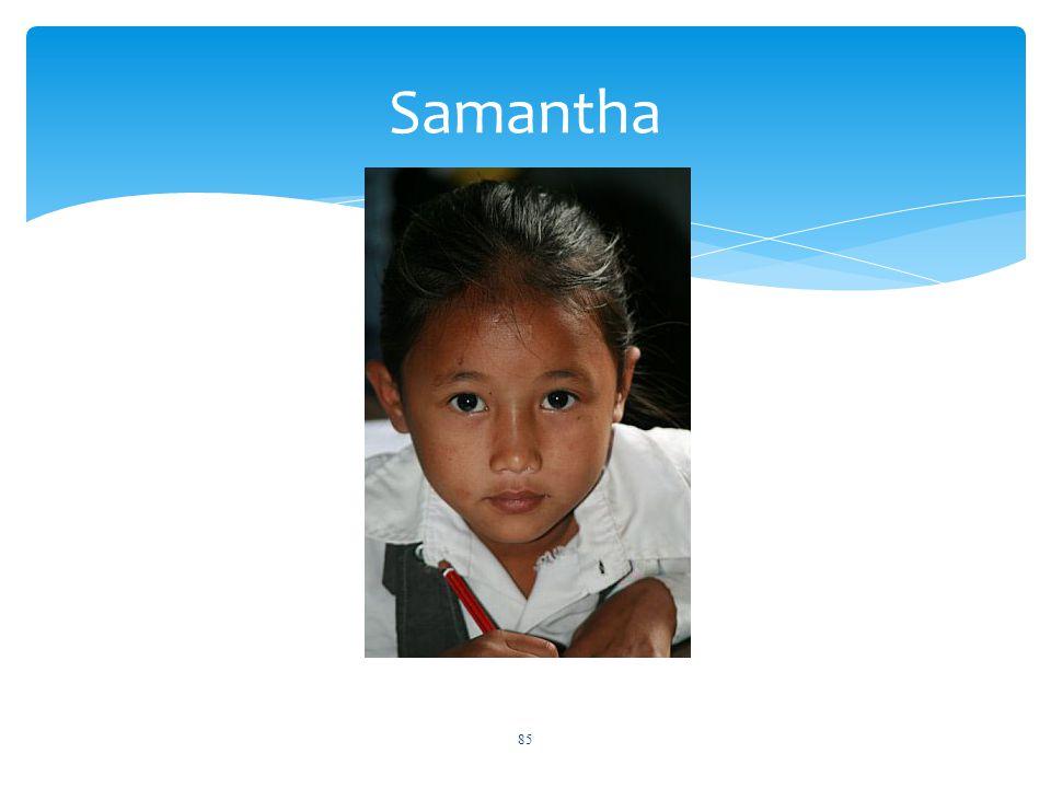 Samantha 85