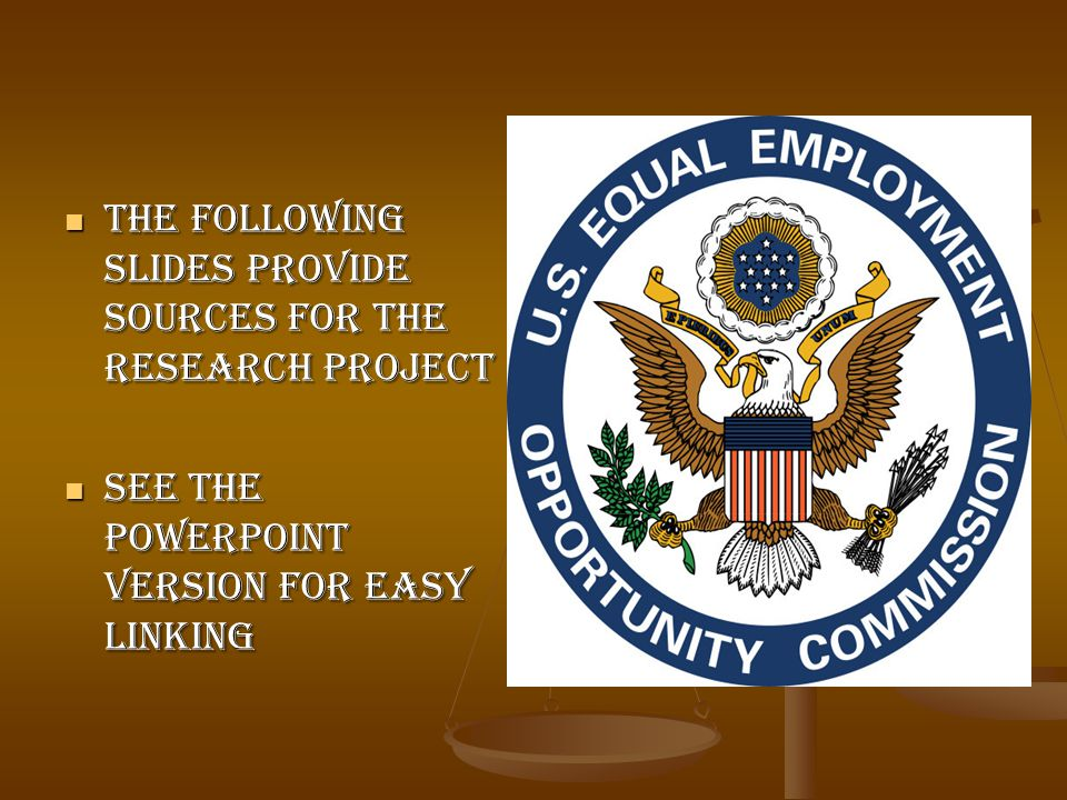The Following slides provide sources for the research project The Following slides provide sources for the research project See the powerpoint version for easy linking See the powerpoint version for easy linking