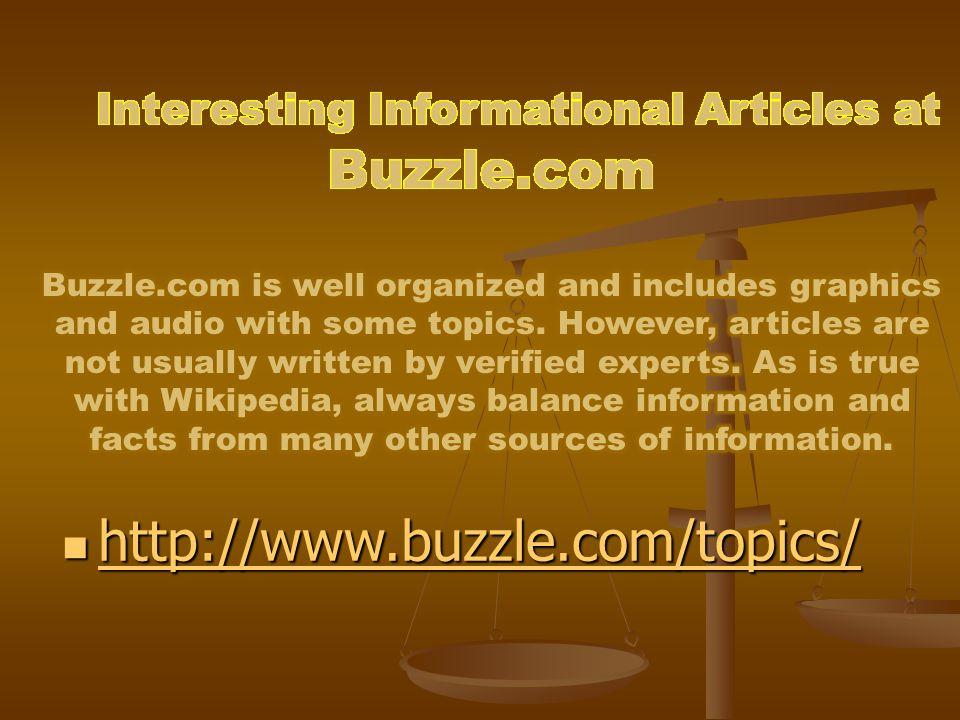 http://www.buzzle.com/topics/ http://www.buzzle.com/topics/ http://www.buzzle.com/topics/