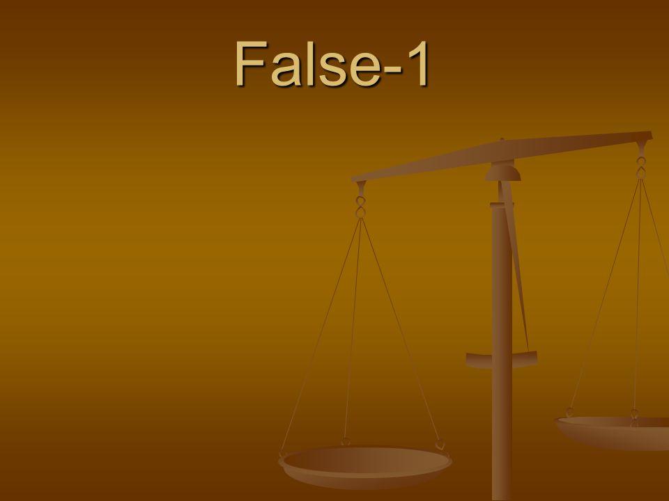 False-1
