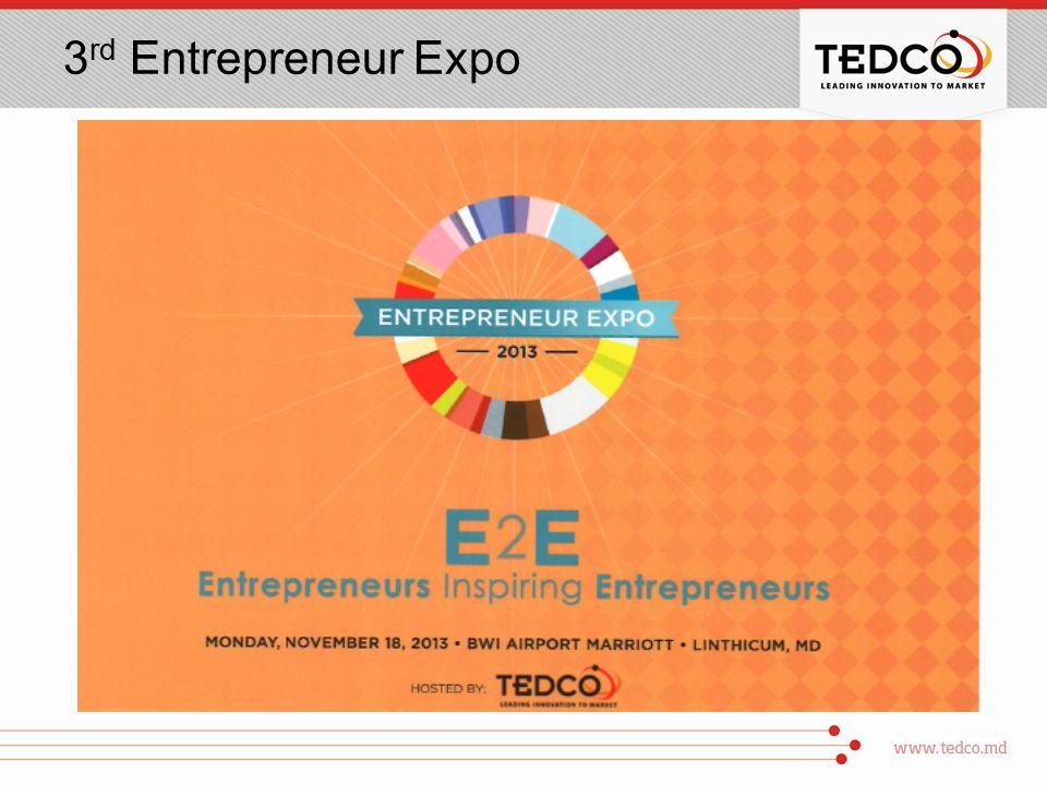 3 rd Entrepreneur Expo