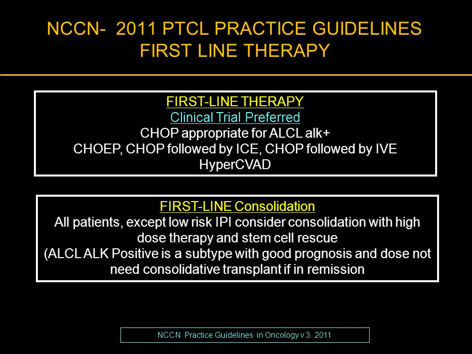 Peripheral T-Cell Lymphomas: How I Manage Frontline Disease  Putting The T-cell Lymphomas in Context  Defining 'Standards of Care' for Upfront Treatment (won't take long)  Newly Emerging Options for Advanced (R/R) Disease: Is combination the right way to go.
