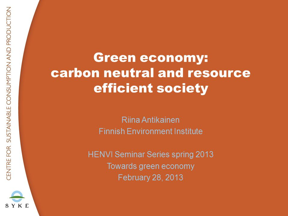 ●What is green economy.●Why green economy is needed.
