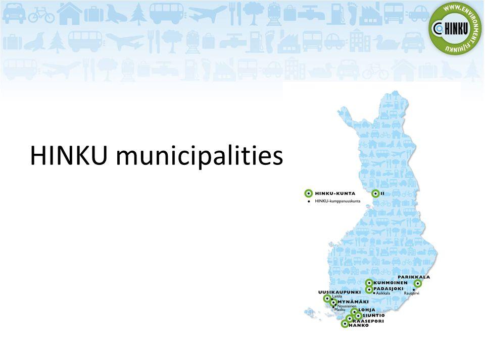 HINKU municipalities