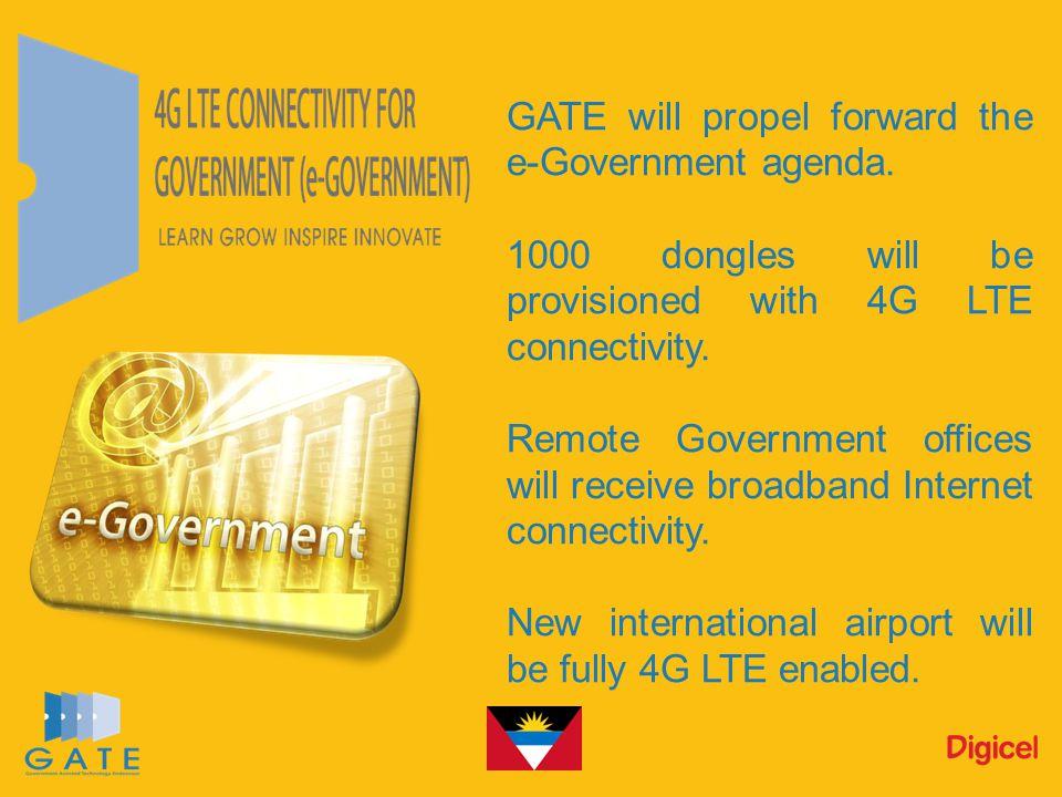 GATE will propel forward the e-Government agenda.