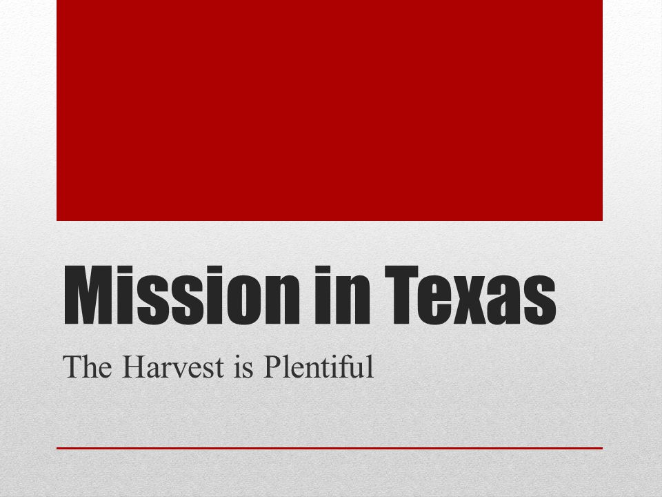 God s Mission 80 New congregations since 2004 5 additional new congregations so far in 2013 Local churches and networks are planting churches and reaching the lost 92% of mission gifts are used for outreach, church planting and support of local ministry.