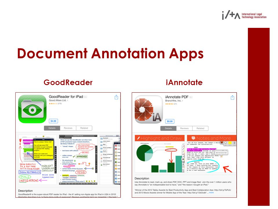 Document Annotation Apps GoodReaderiAnnotate