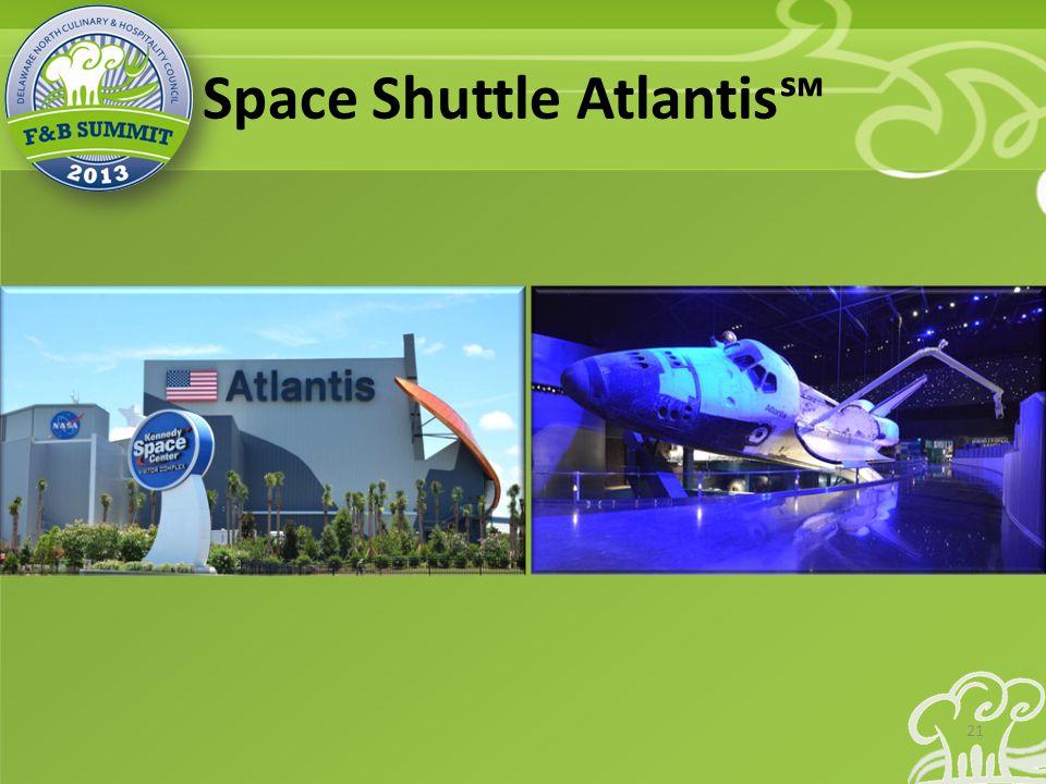 Space Shuttle Atlantis℠ 21