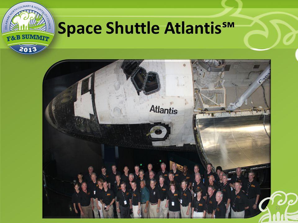 Space Shuttle Atlantis℠ 22