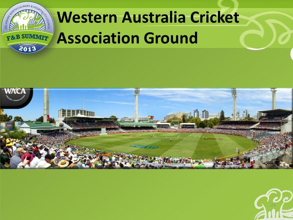 Western Australia Cricket Association Ground 24