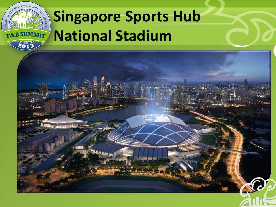 Singapore Sports Hub National Stadium 27