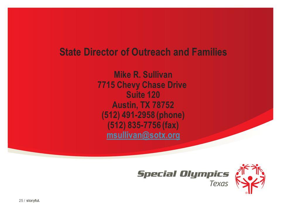 24 / Special Olympics Program Name