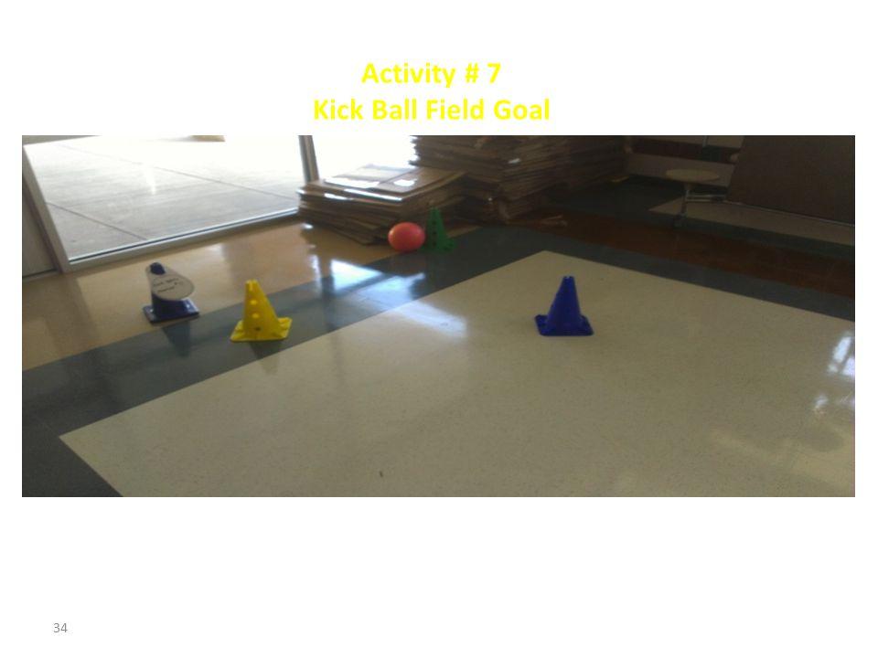 Activity # 6 Tunnel Crawl 33